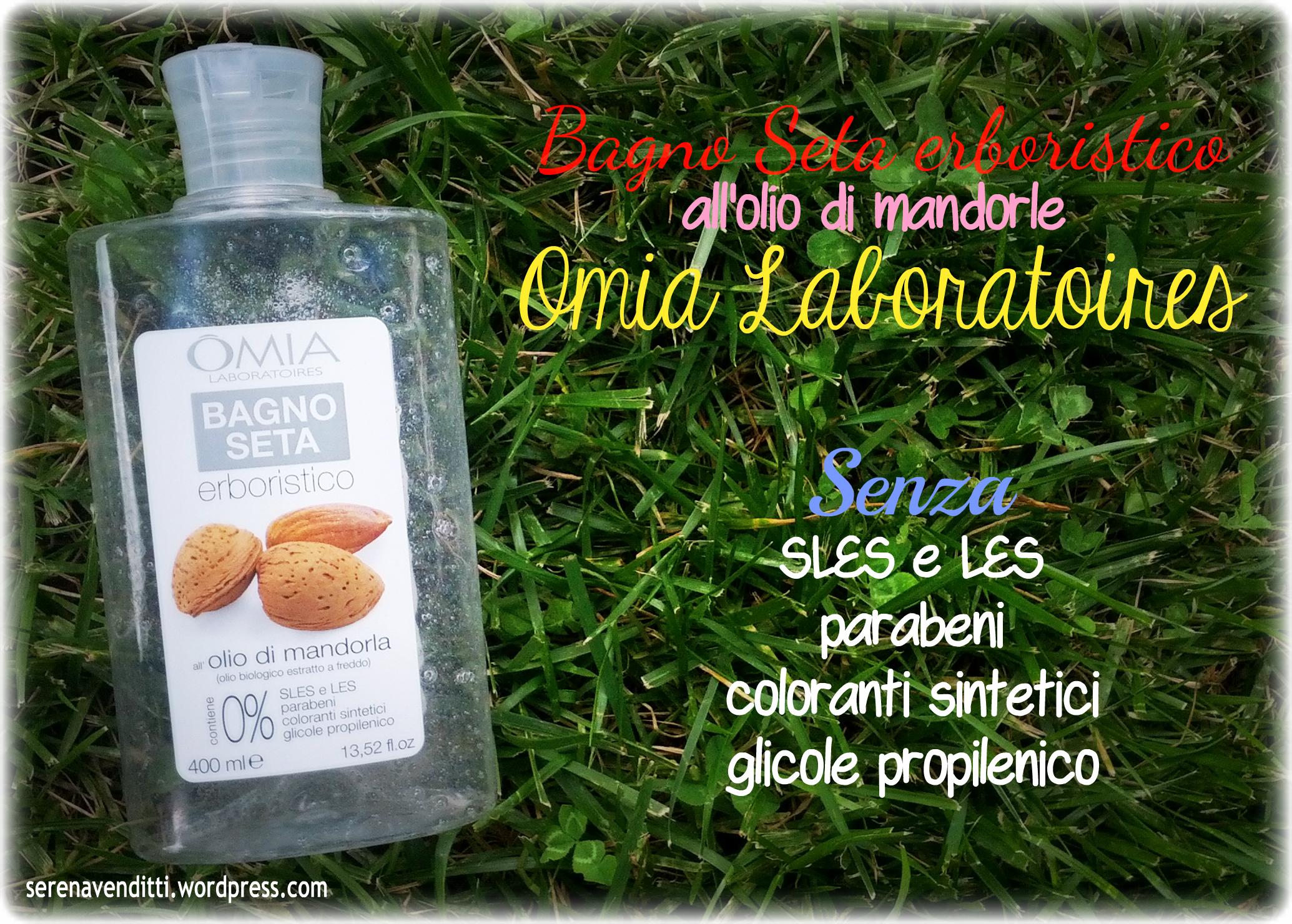 Bagnoseta all olio di mandorle omia laboratoires - Omia bagno seta olio di jojoba inci ...