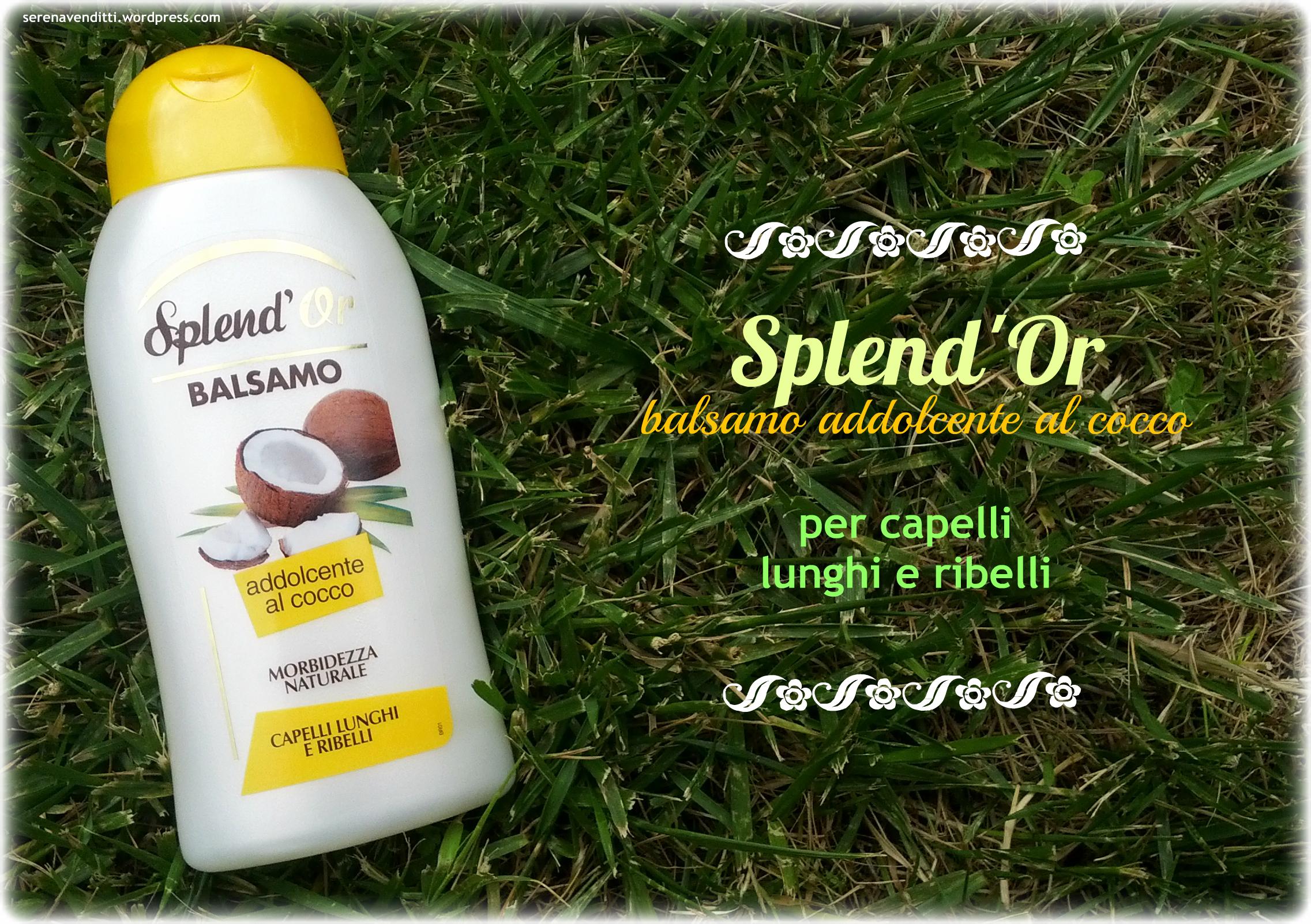 Balsamo Splend'Or Addolcente al Cocco